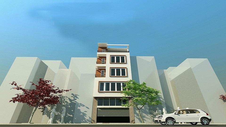 Ảnh tiêu biểu- Tư vấn thiết kế nhà phố 4x10m hiện đại sang trọng thoáng mát