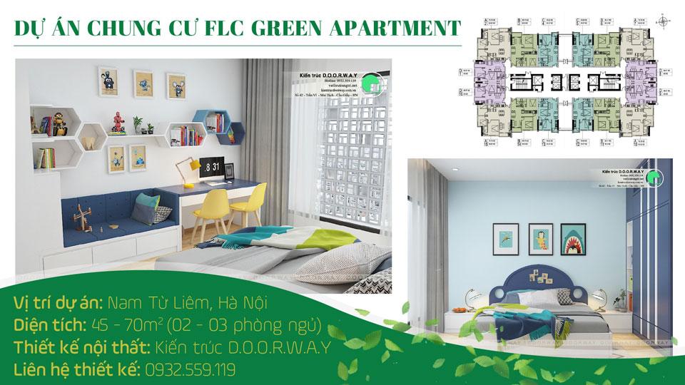 Ảnh tiêu biểu- Thiết kế nội thất chung cư FLC Green Apartment - Full phòng