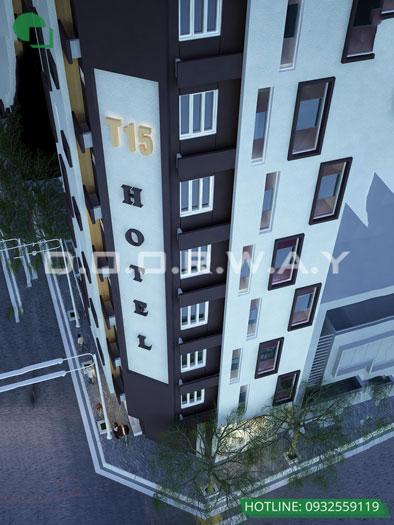 Kiến trúc 2- Mẫu & tiêu chuẩn thiết kế nội thất khách sạn 2 sao TH Hotel 9 tầng