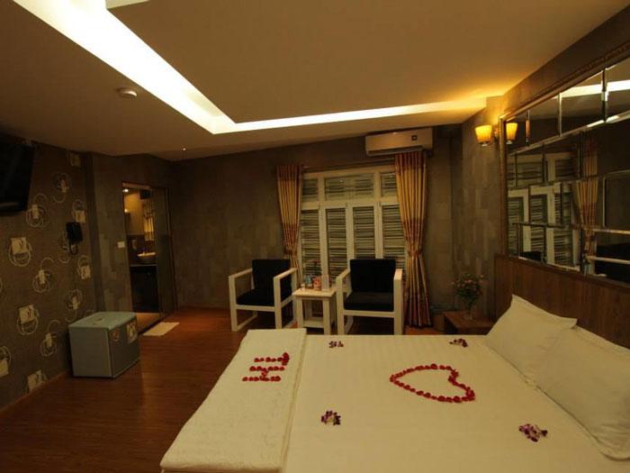 Nội thất 3- Mẫu & tiêu chuẩn thiết kế nội thất khách sạn 2 sao TH Hotel 9 tầng