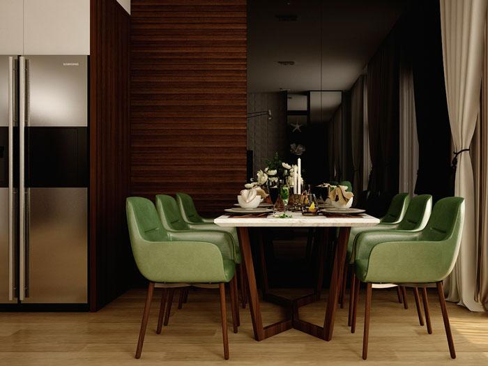 PA- thiết kế căn hộ 45m2 FLC Green Apartment - Thiết kế nội thất