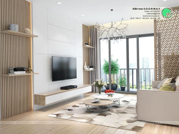PK(1) 2PN- Mẫu thiết kế nội thất chung cư Imperia Sky Garden - Kiến trúc Doorway