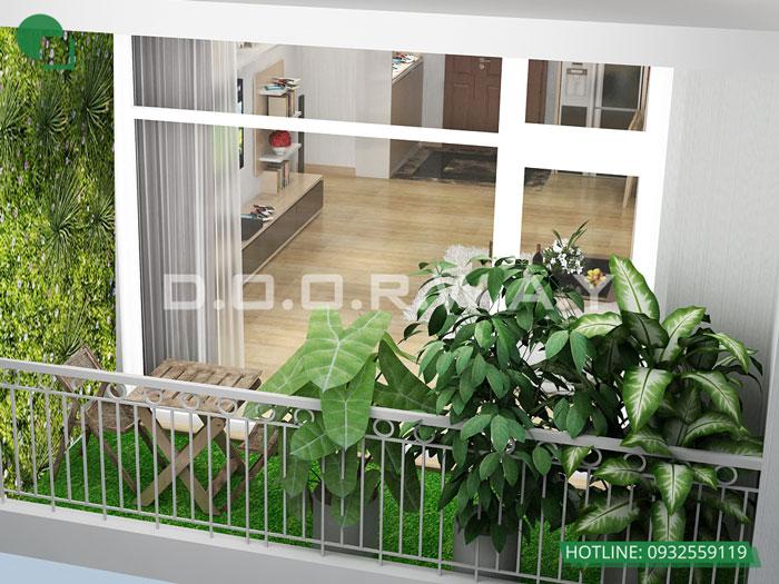 PK(1)- Gợi ý thiết kế căn hộ 98m2 Imperia Sky Garden - Căn 3 phòng ngủ