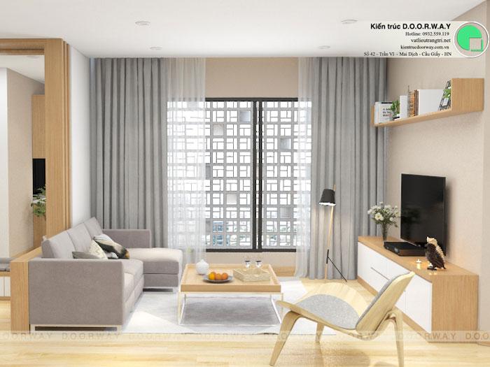 PK(1)- Khám phá mẫu thiết kế nội thất chung cư Sky Park Residence - Tôn Thất Thuyết