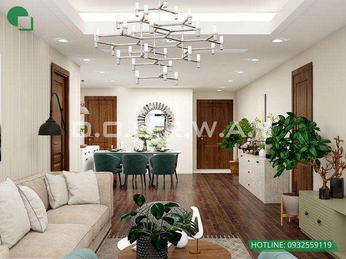 PK2 74m2- Thiết kế căn hộ 74m2 Imperia Sky Garden - Căn hộ 2PN đẹp