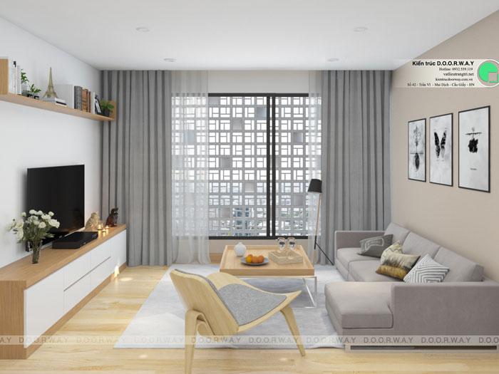 PK(2)- Gợi ý thiết kế căn hộ 98m2 Imperia Sky Garden - Căn 3 phòng ngủ