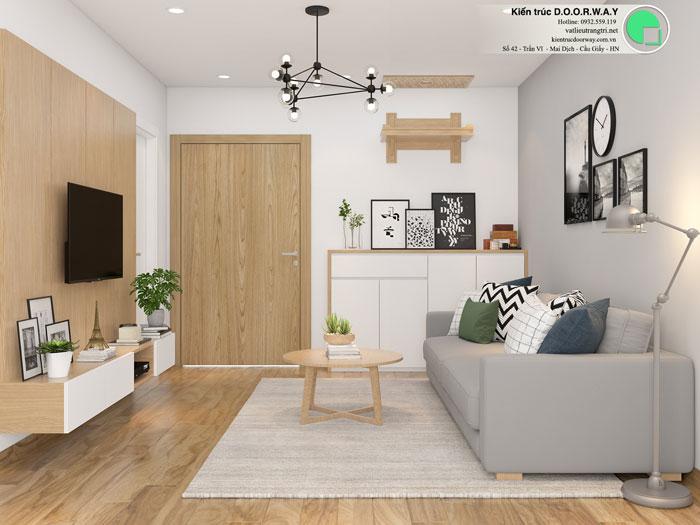 PK(2)- Khám phá mẫu thiết kế nội thất chung cư Sky Park Residence - Tôn Thất Thuyết