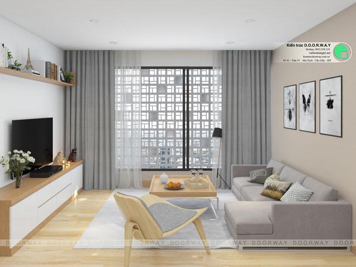 PK2- Full thiết kế nội thất chung cư Sunshine Garden __Căn 1PN - 4PN