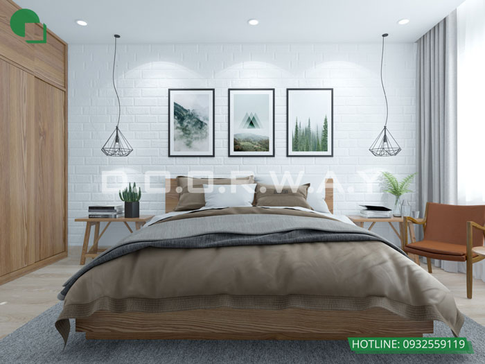 PN1 74m2- Thiết kế căn hộ 74m2 Imperia Sky Garden - Căn hộ 2PN đẹp