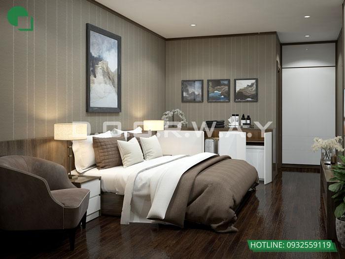 PN1 (1)- thiết kế căn hộ 45m2 FLC Green Apartment - Thiết kế nội thất