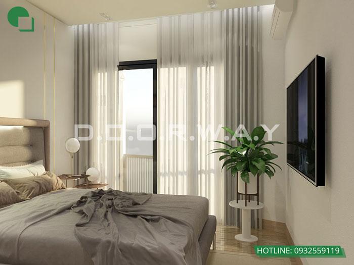 PN1(2) 3PN- Mẫu thiết kế nội thất chung cư Imperia Sky Garden - Kiến trúc Doorway