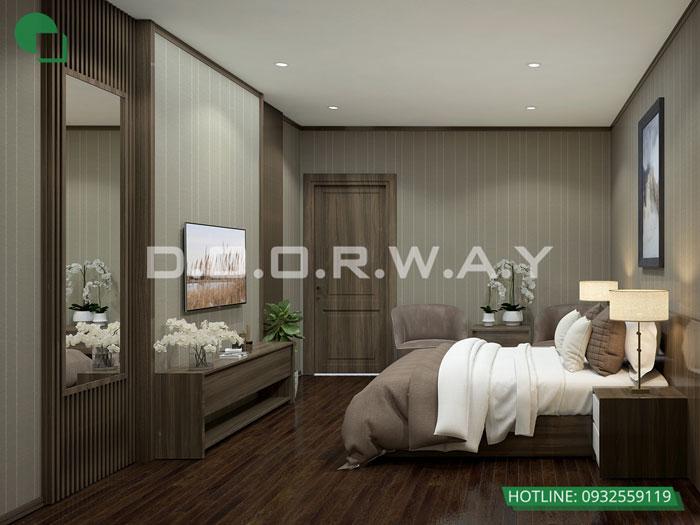 PN1 (2)- thiết kế căn hộ 45m2 FLC Green Apartment - Thiết kế nội thất