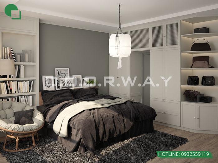 PN1(2)- Thiết kế nội thất chung cư FLC Green Apartment - Full phòng