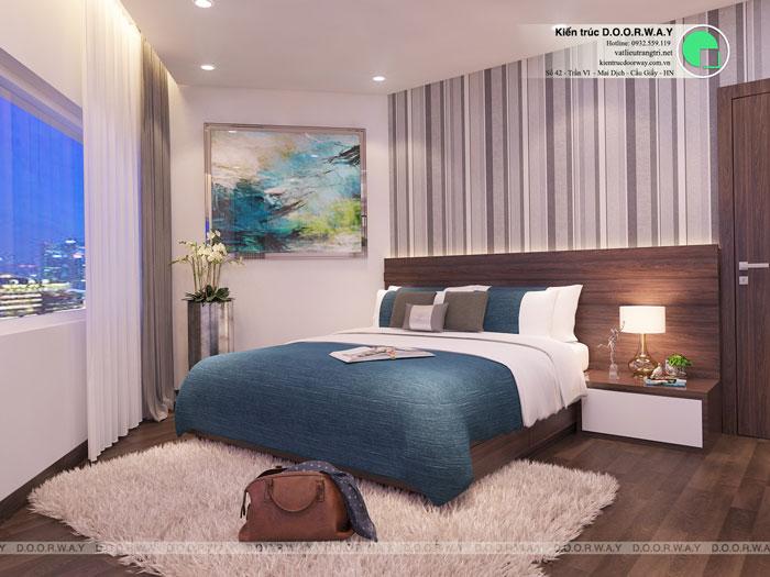 PN1(3)- Full thiết kế nội thất chung cư Sunshine Garden __Căn 1PN - 4PN