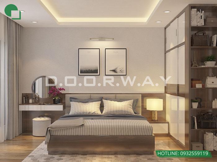 PN2 3PN- Mẫu thiết kế nội thất chung cư Imperia Sky Garden - Kiến trúc Doorway
