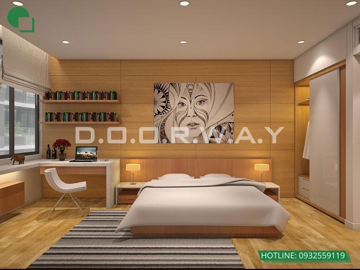 PN2- Gợi ý thiết kế căn hộ 98m2 Imperia Sky Garden - Căn 3 phòng ngủ