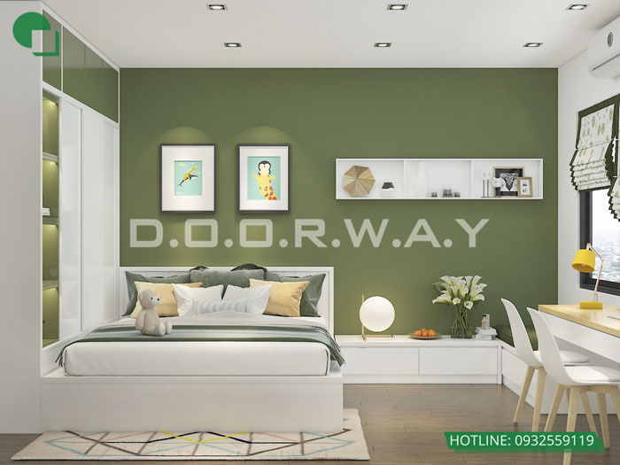 PN2(2)- Full thiết kế nội thất chung cư Sunshine Garden __Căn 1PN - 4PN