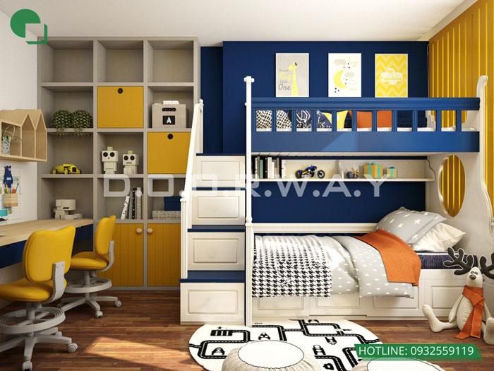 PN2(3)- Full thiết kế nội thất chung cư Sunshine Garden __Căn 1PN - 4PN