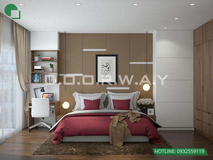 PN3 3PN- Mẫu thiết kế nội thất chung cư Imperia Sky Garden - Kiến trúc Doorway