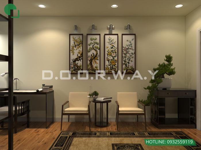 PT(2)- Khám phá mẫu thiết kế nội thất chung cư Sky Park Residence - Tôn Thất Thuyết