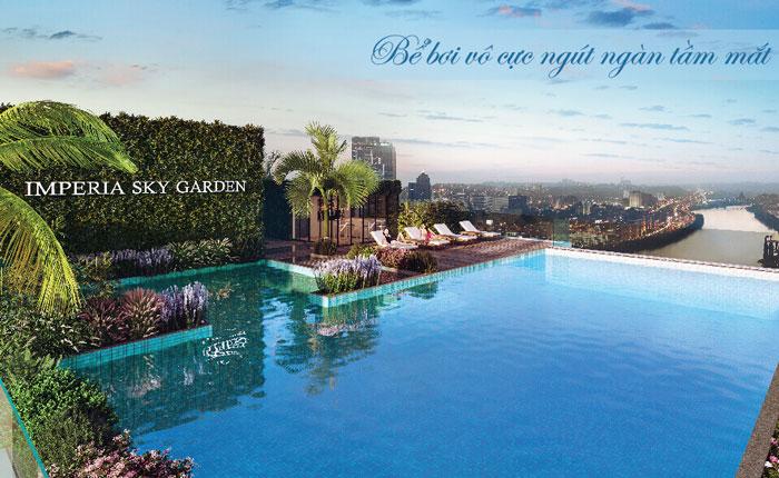 Tiện ích- Thiết kế căn hộ 74m2 Imperia Sky Garden - Căn hộ 2PN đẹp