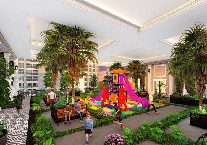 Tiện ích 2- Full thiết kế nội thất chung cư Sunshine Garden __Căn 1PN - 4PN