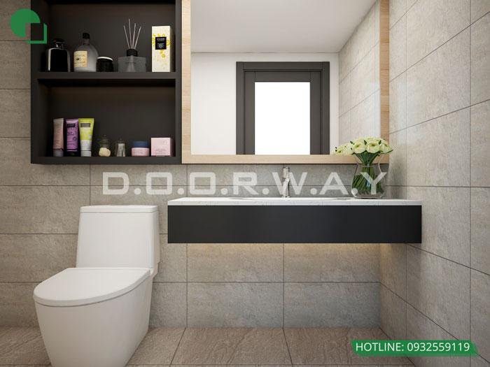 WC 2PN- Mẫu thiết kế nội thất chung cư Imperia Sky Garden - Kiến trúc Doorway