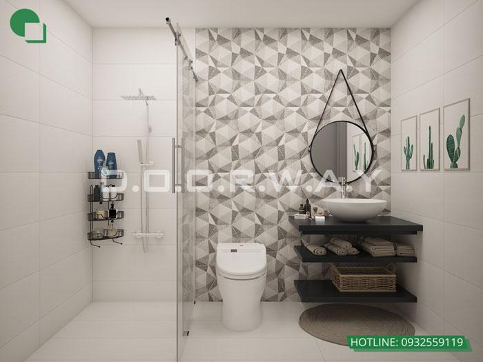 WC 3PN- Mẫu thiết kế nội thất chung cư Imperia Sky Garden - Kiến trúc Doorway