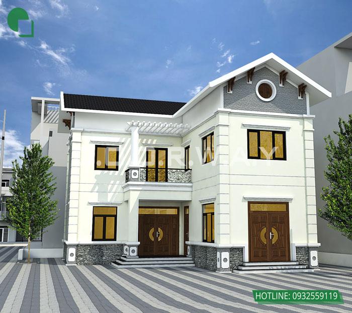 1- 11 mẫu thiết kế nhà phố 2 mặt tiền hiện đại tại Hà Nội (2019)