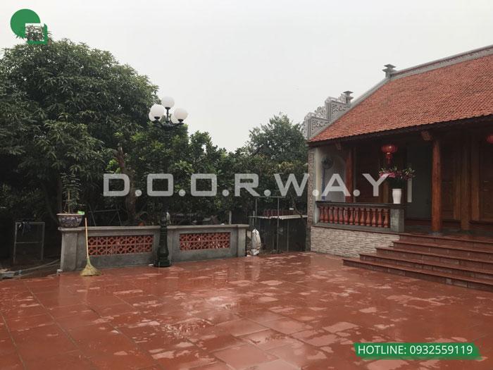 3a- Mẫu thi công nội thất nhà thờ họ, nhà từ đường đẹp hợp phong thủy tại Hà Nội