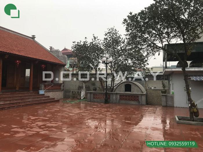 3b- Mẫu thi công nội thất nhà thờ họ, nhà từ đường đẹp hợp phong thủy tại Hà Nội