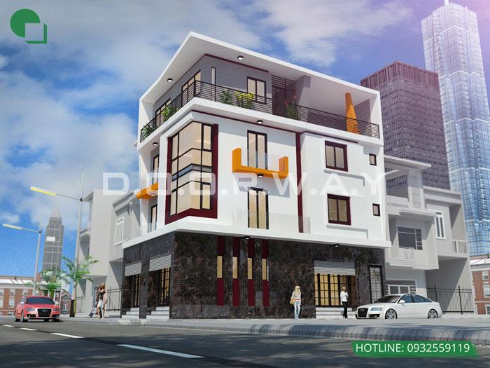 4- 11 mẫu thiết kế nhà phố 2 mặt tiền hiện đại tại Hà Nội (2019)