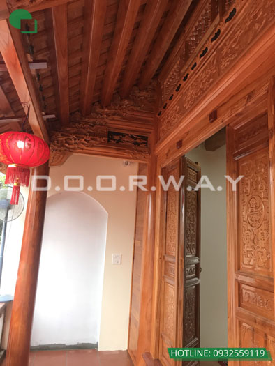 4a- Mẫu thi công nội thất nhà thờ họ, nhà từ đường đẹp hợp phong thủy tại Hà Nội