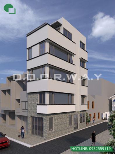 8- 11 mẫu thiết kế nhà phố 2 mặt tiền hiện đại tại Hà Nội (2019)