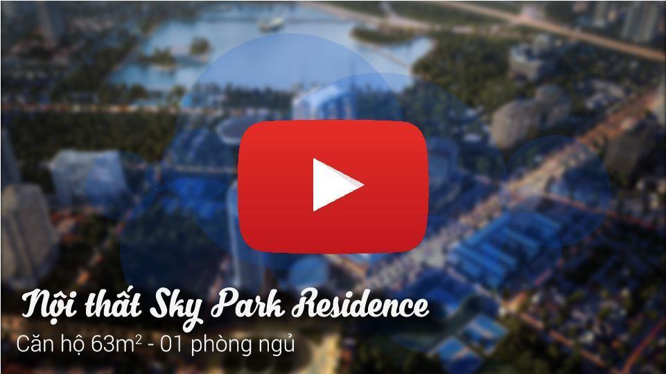Ảnh tiêu biểu- [Khám phá] Nội thất căn hộ 63m2 Sky Park Residence đẳng cấp