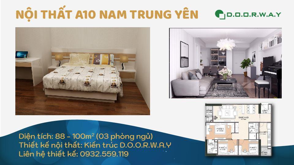 Ảnh tiêu biểu- Tổng hợp mẫu nội thất căn 3 phòng ngủ A10 Nam Trung Yên