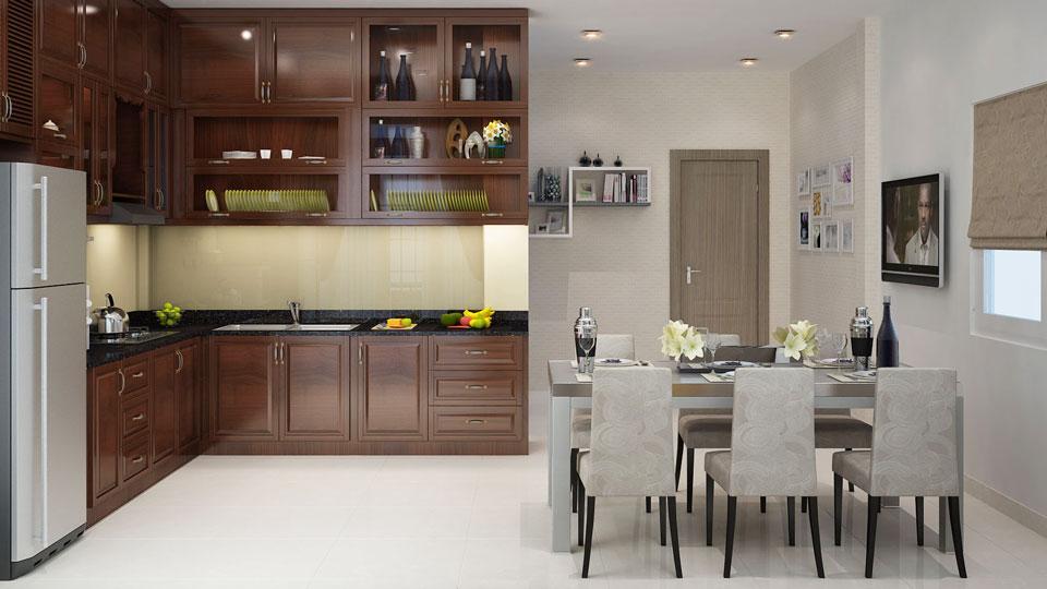 Ảnh tiêu biểu- Gợi ý mẫu thiết kế nhà bếp đẹp rẻ diện tích nhỏ - 2019
