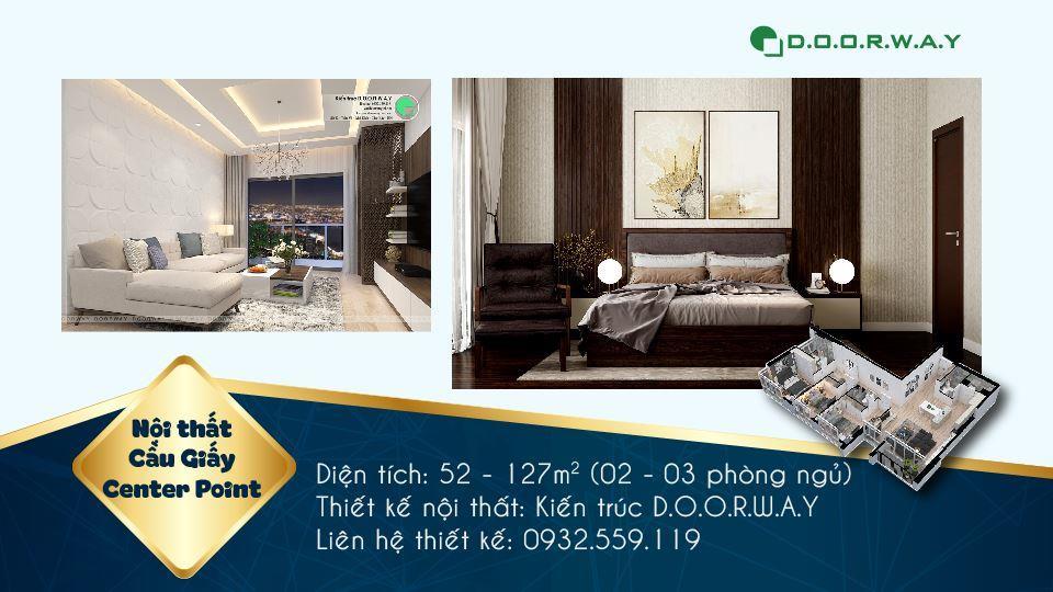 Ảnh tiêu biểu - 7 loại phòng trong thiết kế nội thất chung cư 110 Cầu Giấy Center Point