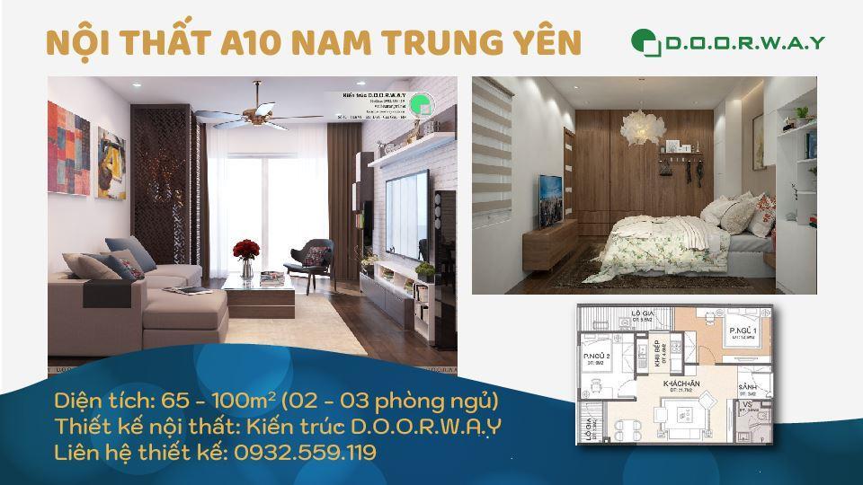 Ảnh tiêu biểu- Các mẫu thiết kế nội thất chung cư A10 Nam Trung Yên