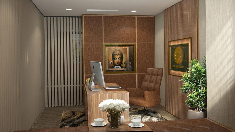 Ảnh tiêu biểu 2 - Mẫu thiết kế nội thất văn phòng hiện đại đẹp 2019