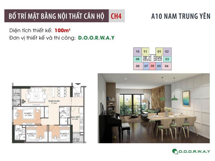 MB-100m2- Tổng hợp mẫu nội thất căn 3 phòng ngủ A10 Nam Trung Yên
