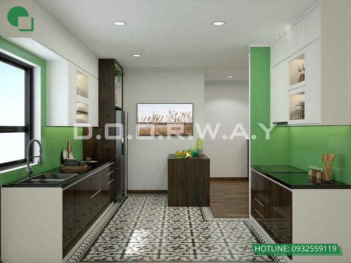 PB- Thiết kế nội thất căn hộ 65m2 A10 Nam Trung Yên - Full phòng