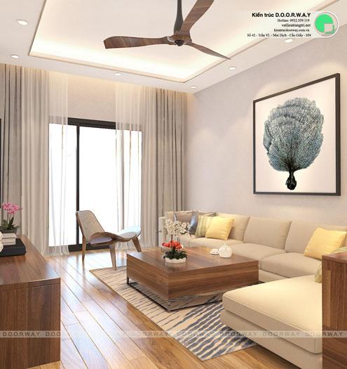 PK- thiết kế nội thất căn 94m2 A10 Nam Trung Yên - Căn hộ 3PN