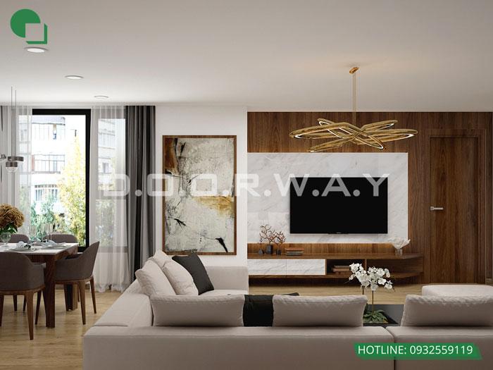 PK- Mẫu thiết kế nội thất căn hộ 72m2 A10 Nam Trung Yên