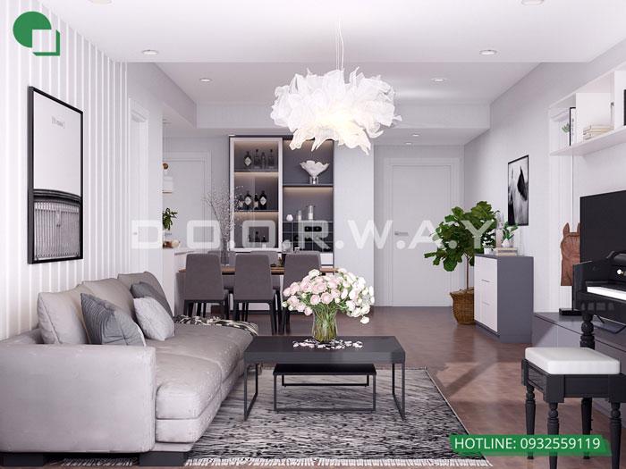 PK(1)- Tổng hợp mẫu nội thất căn 3 phòng ngủ A10 Nam Trung Yên