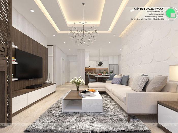 PK1- 7 loại phòng trong thiết kế nội thất chung cư 110 Cầu Giấy Center Point