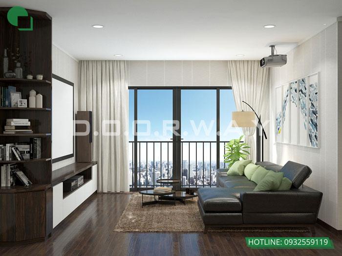 PK2- Khám phá vẻ đẹp của nội thất căn hộ 3 phòng ngủ 110 Cầu Giấy Center Point