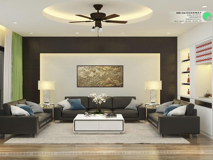 PK2- Phương án thiết kế nội thất chung cư Hateco Apollo đẹp hiện đại