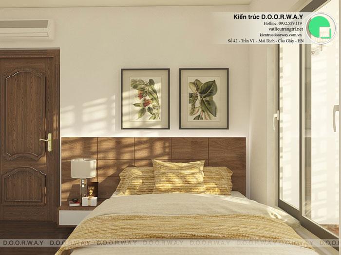 PN1- Mẫu thiết kế nội thất căn hộ 72m2 A10 Nam Trung Yên