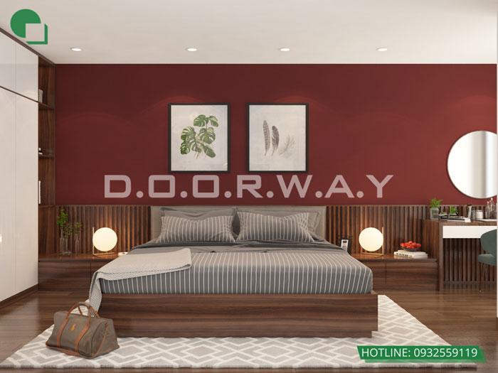 PN1(1)- Thiết kế nội thất căn hộ 2 phòng ngủ 110 Cầu Giấy Center Point - New 2019